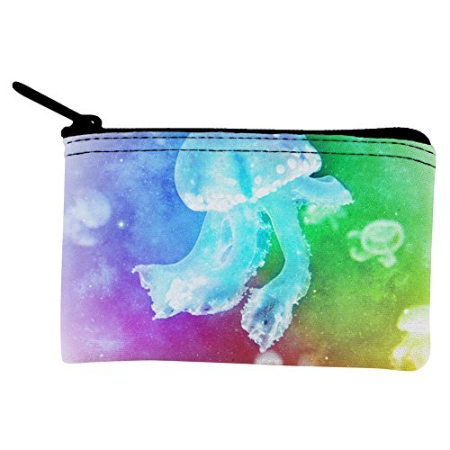 Squishy Baby Jellyfish Rainbow Coin Purse Multi Standard One Size