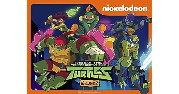 Amazon.com: Rise of the Teenage Mutant Ninja Turtles Season ...
