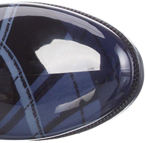 Tommy Hilfiger O1285XBRIDGE 6R - Botas de agua para mujer Multicolor (blue mix 490)