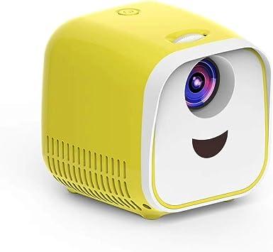 Opinión sobre YANTAIAN Proyectores LED L1 Proyector for niños Mini LED Proyector de Altavoz portátil for el hogar (Color : Amarillo)