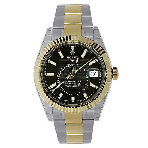 (Rolex Sky-Dweller 42mm Stainless Steel & 18K Yellow Gold Watch 326933)