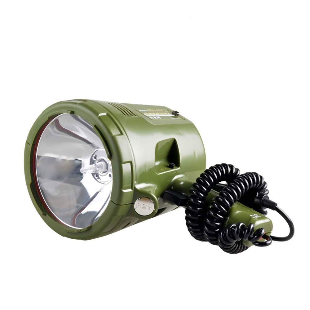 Xenon Fort éclairage Searchlight Long-shot Portable Chasse Pêche de nuit lumière 75w -