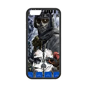 Printed Cover Protector iPhone 6 Plus 5.5 Inch Cell Phone Case BlackCall Of Duty GhostsPufyu Unique Design Cases