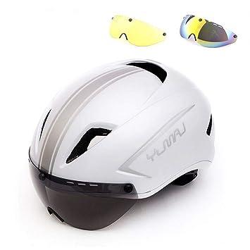 LOLIVEVE 3 Lente Nuevo Casco De Bicicleta Magnética Goggle Racing ...