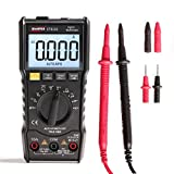 Digital Multimeter, Sacow ET8101/ET8102 Digital Multimeter LCD AC/DC Ammeter Resistance Capacitance Tester (B)