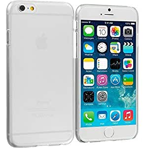 Accessory Planet(TM) Clear Crystal Hard Snap-On Rear Case Cover for Apple iPhone 6 (4.7)