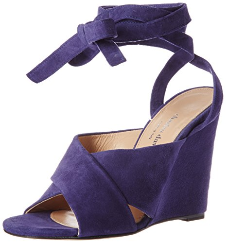 Charles David Women's Quest Wedge Sandal Navy