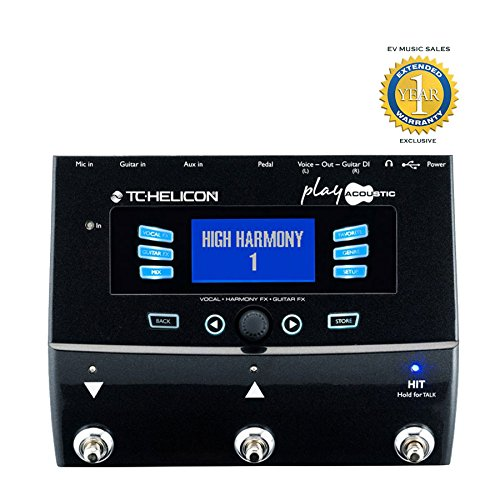 TC Helicon Play Acoustic Multi effect Extended