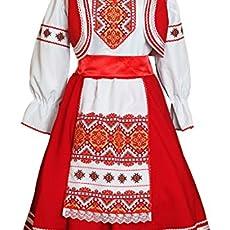 d7e15ea56 Russian shirt men traditional wear kosovorotka boho shirt. $59.00. Slavic  costume women Belarus dress folk dance wear