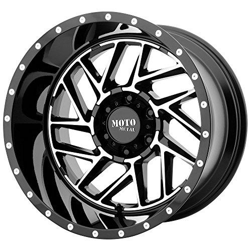 MOTO METAL BREAKOUT GLOSS BLACK MACHINED BREAKOUT 22x10 6x13