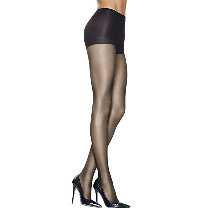 aa2f4147a Image Unavailable. Image not available for. Color  Hanes Silk Reflections  Lasting Sheer Control Top Pantyhose ...