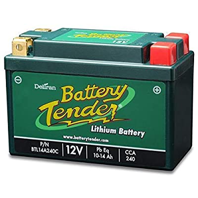 B00F9LPIAC Battery Tender BTL09A120C Lithium Iron Phosphate Battery and Green Lithium Junior Battery Charger