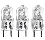 Anyray (3)-Lamps Replacement Light bulbs 120V 20-Watt for GE Microwave WB36X10213 20W