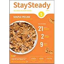 Nutritious Living StaySteady, Maple Pecan Cereal, 10 Ounce