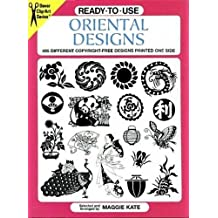 Ready-to-Use Oriental Designs: 495 Different Copyright-Free Designs Printed One Side