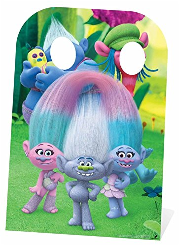 SC1222 Trolls Diamond Guy Stand-In Cardboard Cutout - Out Diamond Cut