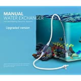 Manual Fish Tank Sand Washer Vacuum Cleaner Aquarium filter Syphon Operated Gravel Water Filter/Pumps Cleaner