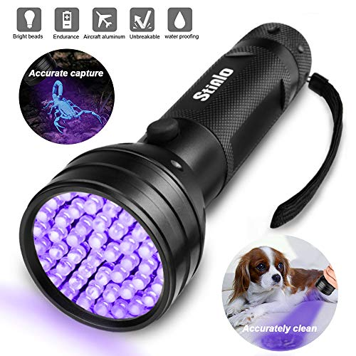 STIALO UV Flashlight Blacklight Flashlights Black Light for sale  Delivered anywhere in USA