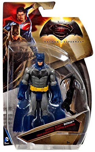 Batman vs Superman Blue Batman Tri-card Variant Grapnel Blast