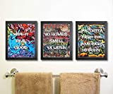 Hip Hop Graffiti 90s Themed Party Supply Decor (Bathroom Art)