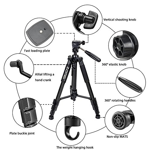 zomei-55-compact-light-weight-travel-portable-folding-slr-camera-tripod-for-canon-nikon-sony-dslr-camera-video-with-carry-caseblack