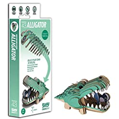 Brainstorm Toys D5009 EUGY Alligator 3D ...