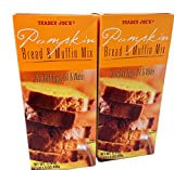 Trade Joes Pumpkin Bread and Muffin Mix: 2 Boxes 1 Lb 1.5 Oz. Each.total 2 Items