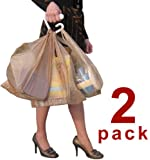 """BAG-MATE HANDLE CARRIER (2 pack) FOR PLASTIC GROCERY BAGS IS THE HIGHEST QUALITY and MOST COMFORTABLE HANDLE AT THE BEST PRICE - Package of 2 handles - Holds more bags than you can lift! MADE IN THE USA! ALSO AVAILABLE IN A 4 PACK AND A 10 PACK - SEARCH """"BAG-MATE HANDLE"""" IN """"ALL DEPARTMENTS"""""""
