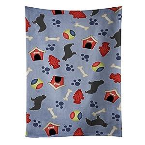 Caroline's Treasures BB3964KTWL Newfoundland Dog House Collection Kitchen Towel, 15 X 28, Multicolor 9