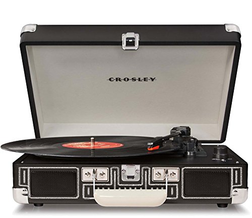 (Crosley CR8005A-CB  Cruiser Portable 3-Speed Turntable, Chalkboard)