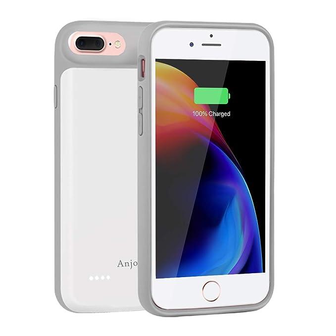 Amazon Com Anjoron Slim Charger Case For Apple Iphone 7 Plus Iphone
