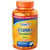 Ester-C 1000mg Value Size, 120 Count