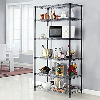 Langria 6 Tier General Purpose Storage Rack/Shelf