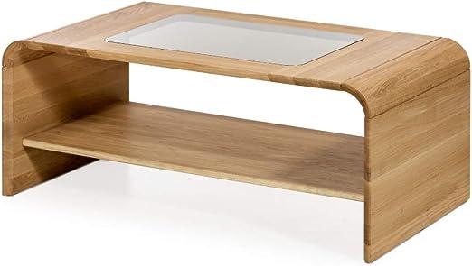 Marca Amazon - Alkove - Hayes - Mesa de centro de madera maciza ...