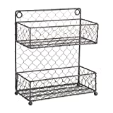 Home Traditions Vintage Metal Chicken Wire Spice