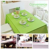 ETMURY Plastic Tablecloth 12 Pack Disposable