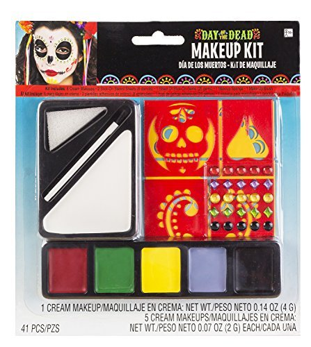 (Amscan Standard Adult Day of The Dead Makeup)