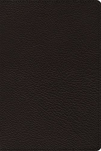 Holy Bible: English Standard Version, Omega, Goatskin, Black, Thinline, Reference from Crossway Books