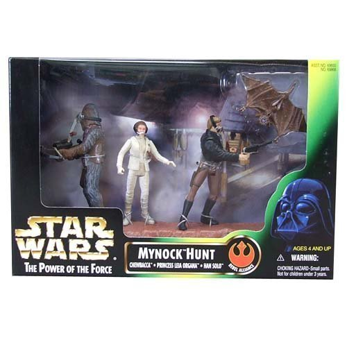 (Star Wars Cinema Scene My knock Hunt (japan import) by Hasbro)