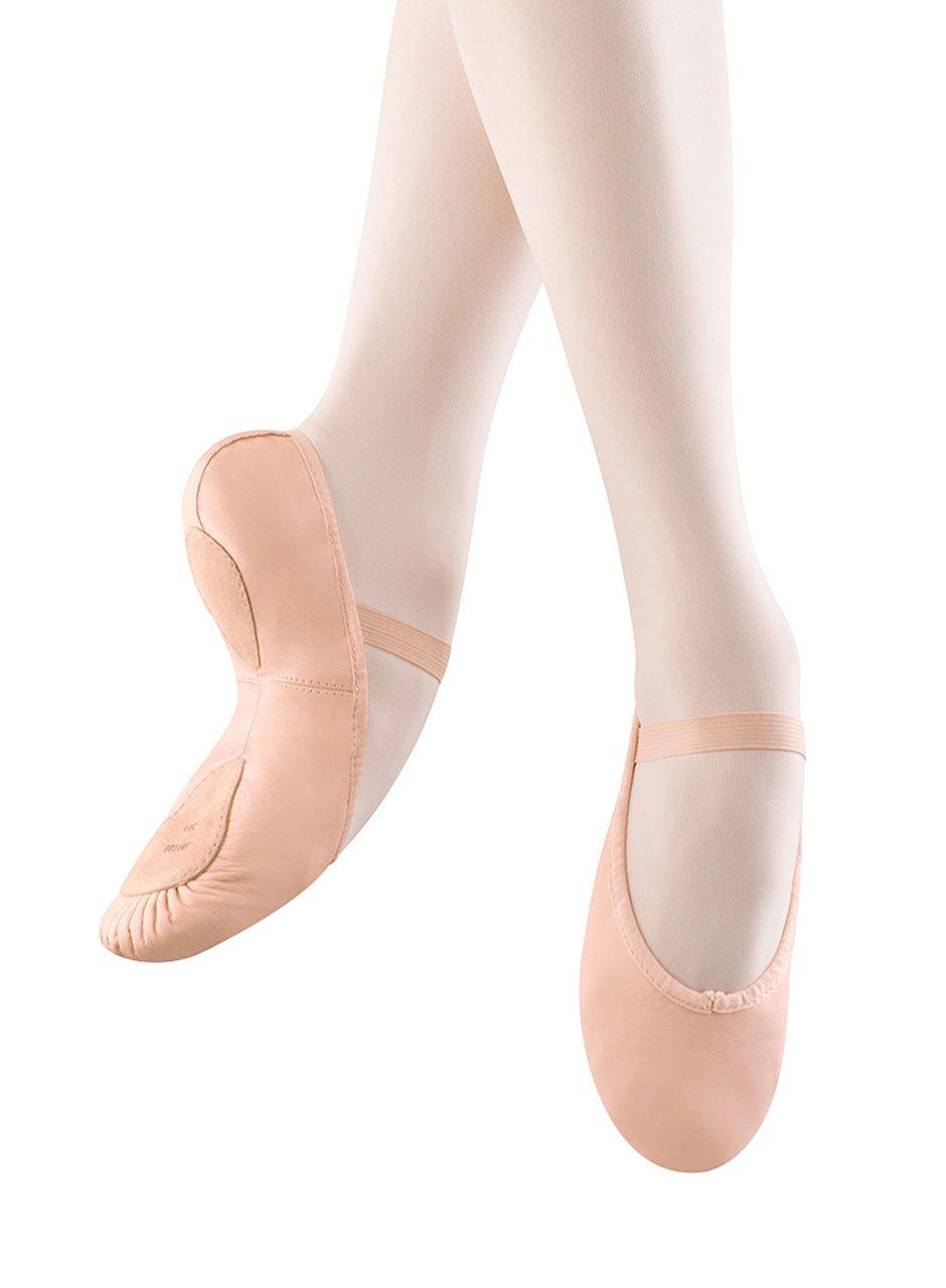 Bloch Women's Dansoft II Split Sole Ballet Slipper,Pink,6 B US