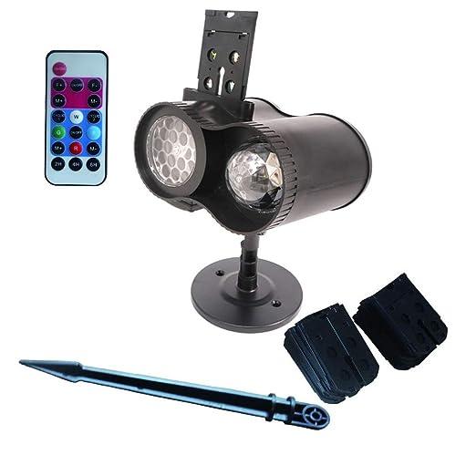 Cajolg Piiiss Proyector LED Luces de Navidad Al Aire Libre ...