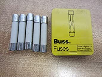 Bussmann Abc 10 Fuse 10a 250v Buss Abc10 Pack Of 5