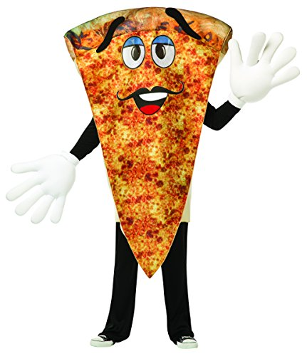 Waver Costumes Adult Pizza Mascot Costume