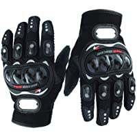 Bike/Motorcycle Riding Gloves (Black, XXl)