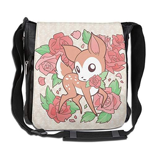 Sourde Oh My Deerling Messenger Bag Handbag Invisible Wallet Female Shoulder Bag Black