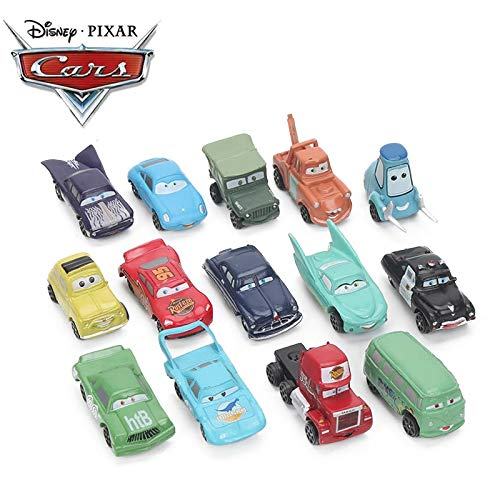 Diecasts & Toy Vehicles - 2-7cm 14pcs/lot Disney Pixar Cars 3 Toy Mini Lightning McQueen Mater Jackson Storm PVC Action Figure Car Model Toys for Boys - by SINAM - 1 PCs from SINAM