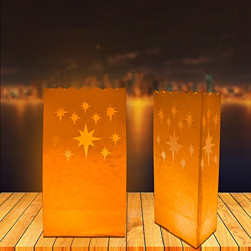 EWINR-10pcs-Star-Luminaria-Paper-Lantern-Candle-Bag-For-Xmas-BBQ-Party-Wedding-Star