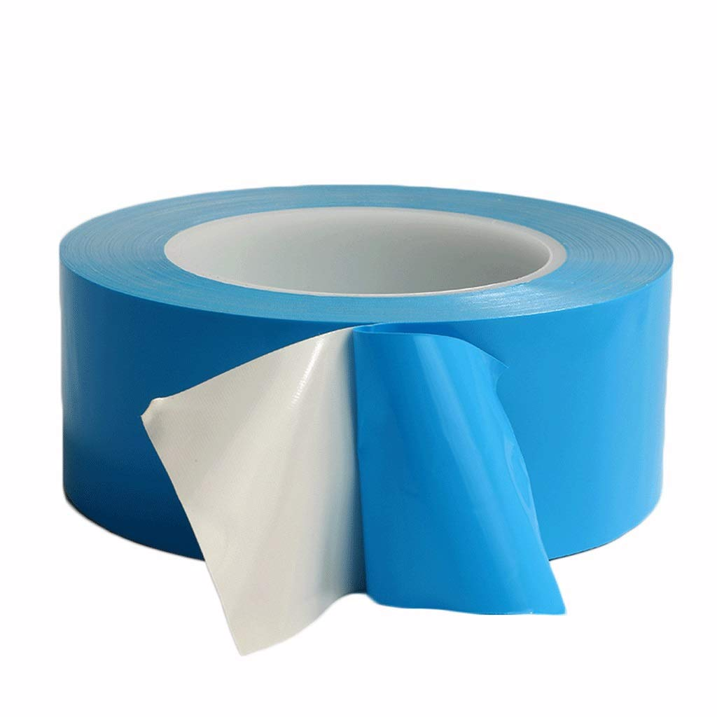 Color : Blue, Size : 20mm /×25m/×1rolls HUQUAN Thermal Double-Sided Tape Light Bar Mold Aluminum Substrate Heat-Resistant High Temperature Tape