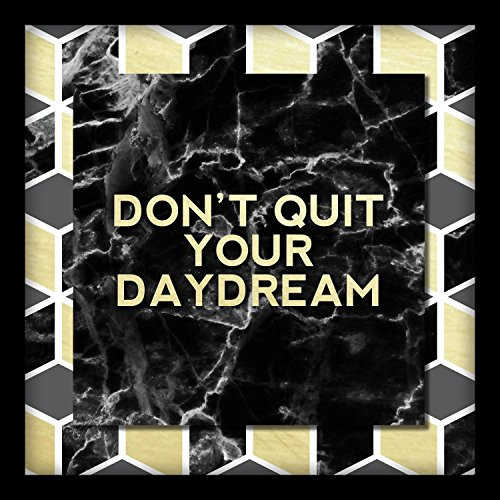 Linden Ave AVE10352 Don't Don't Quit Your Daydream Shadowbox Wall Art