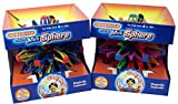 Hoberman Mini Spheres Rings and Hoberman Mini Sphere Rainbow Bundle